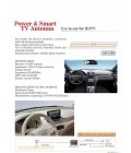 UHF TV ANTENNA FOR CAR